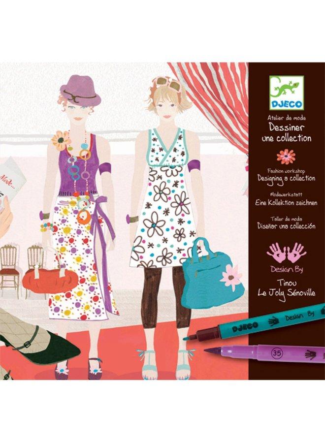 Djeco | knutselpakket | mode atelier