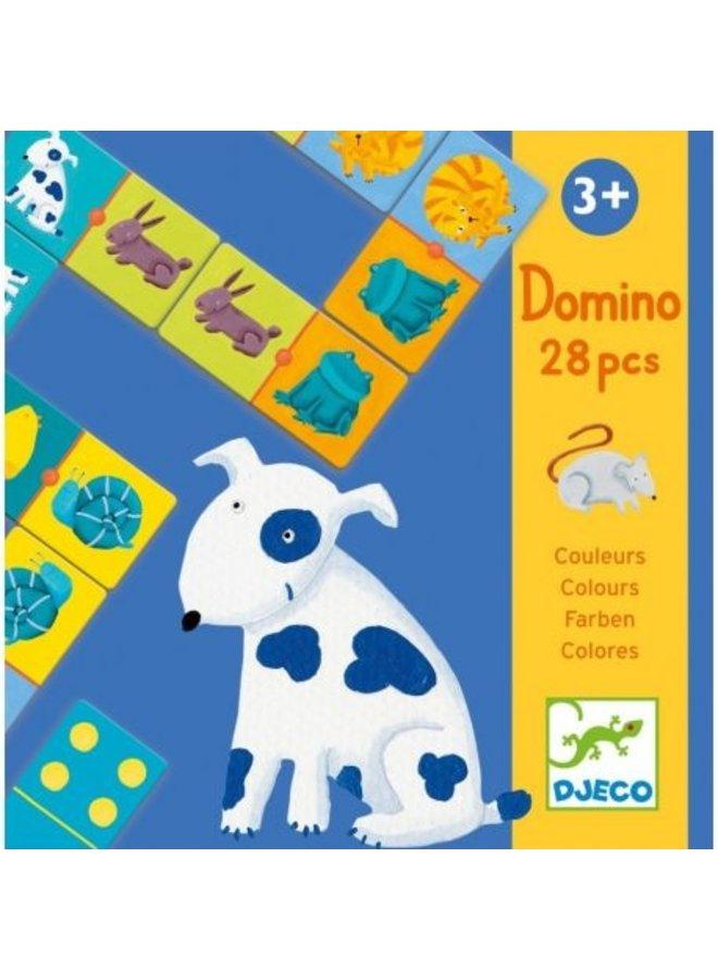 Djeco | domino | gekleurde dieren
