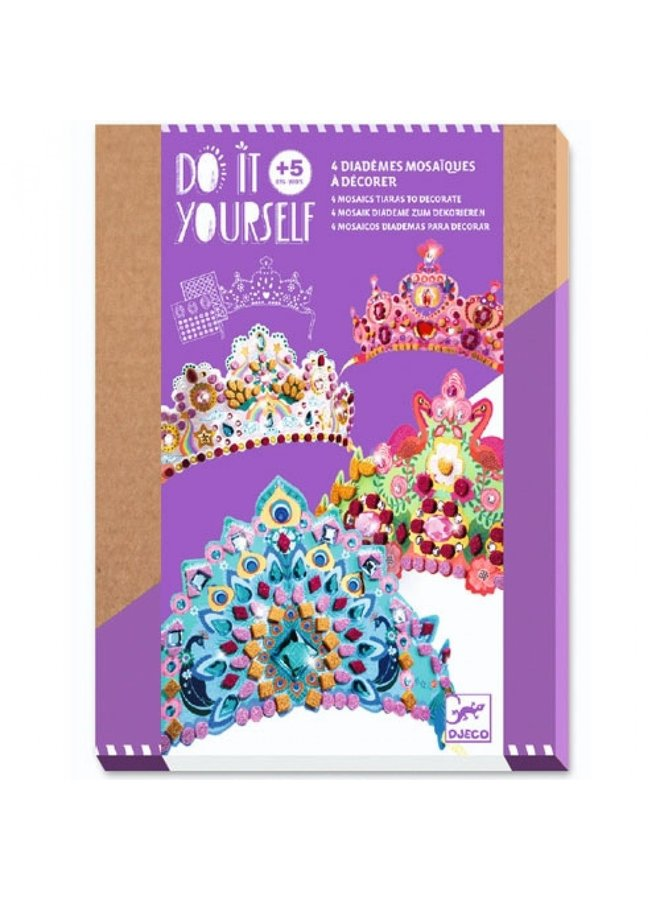 Djeco | knutselpakket | diademen princessen