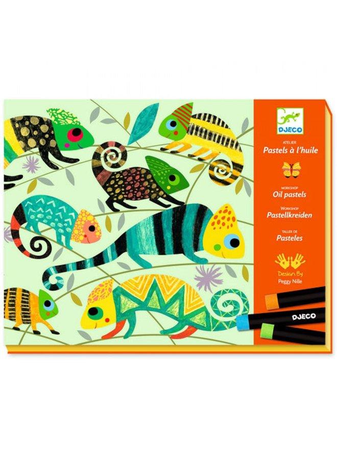 Djeco | knutselpakket | kleuren jungle