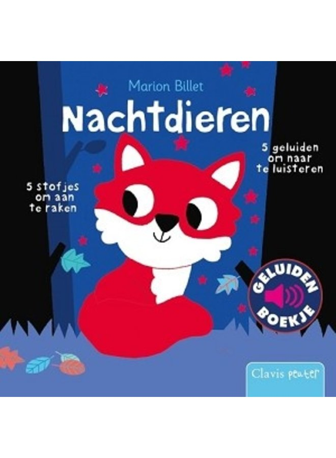 Boeken   geluidenboekje   nachtdieren   1+