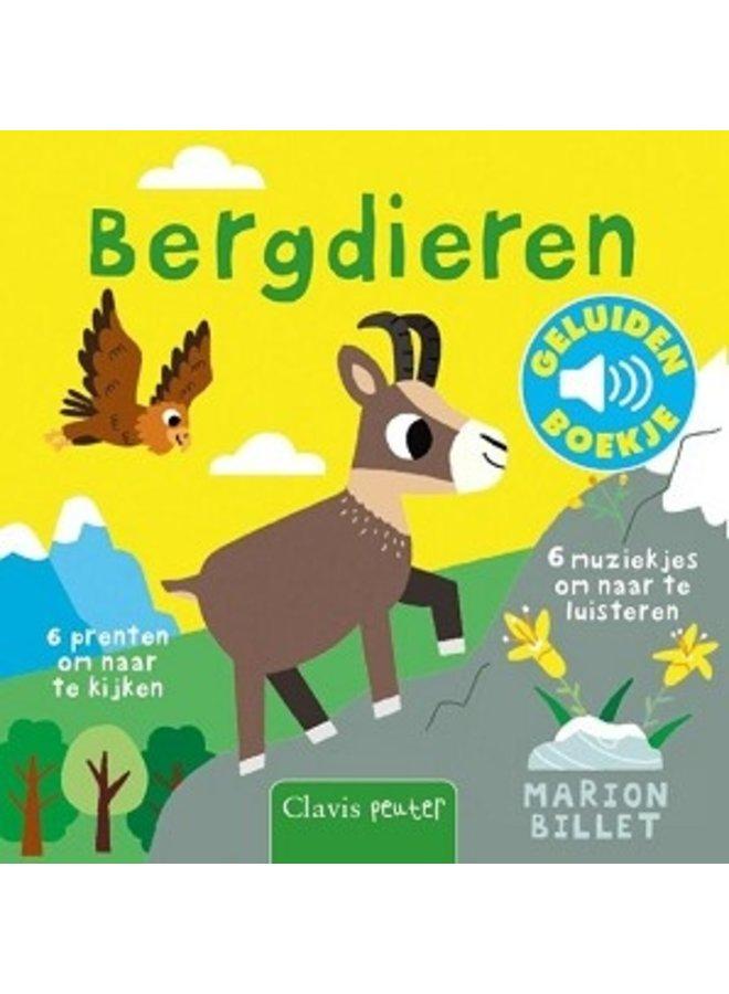 Boeken | geluidenboekje | bergdieren | 1+