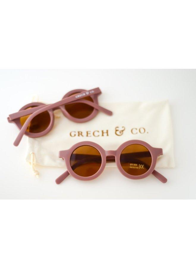 Grech & Co | kinderzonnebril | burlwood