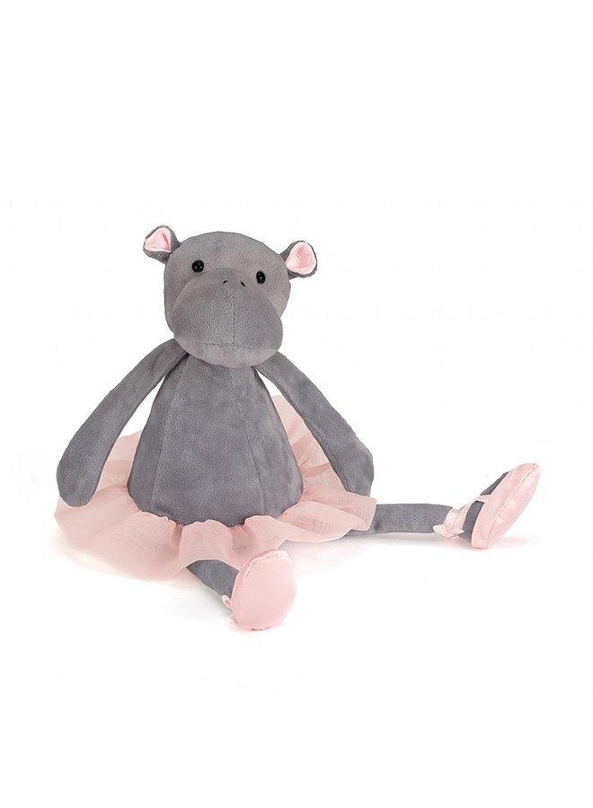 Jellycat | dancing darcey hippo
