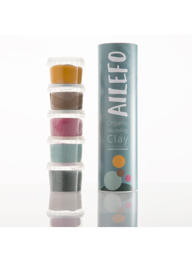 Ailefo | organic klei | basis kleuren