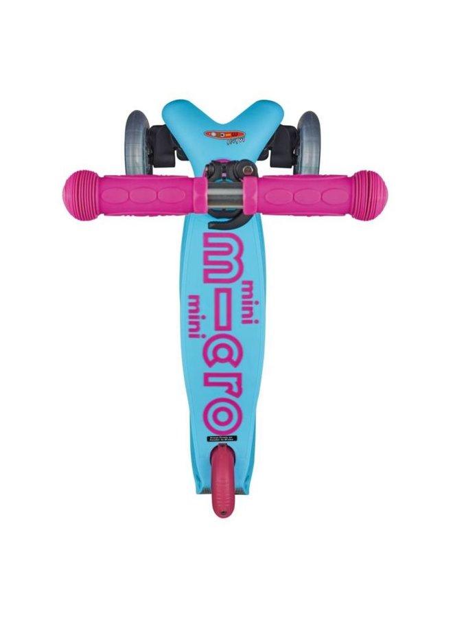 Micro   mini step deluxe   turquoise/roze