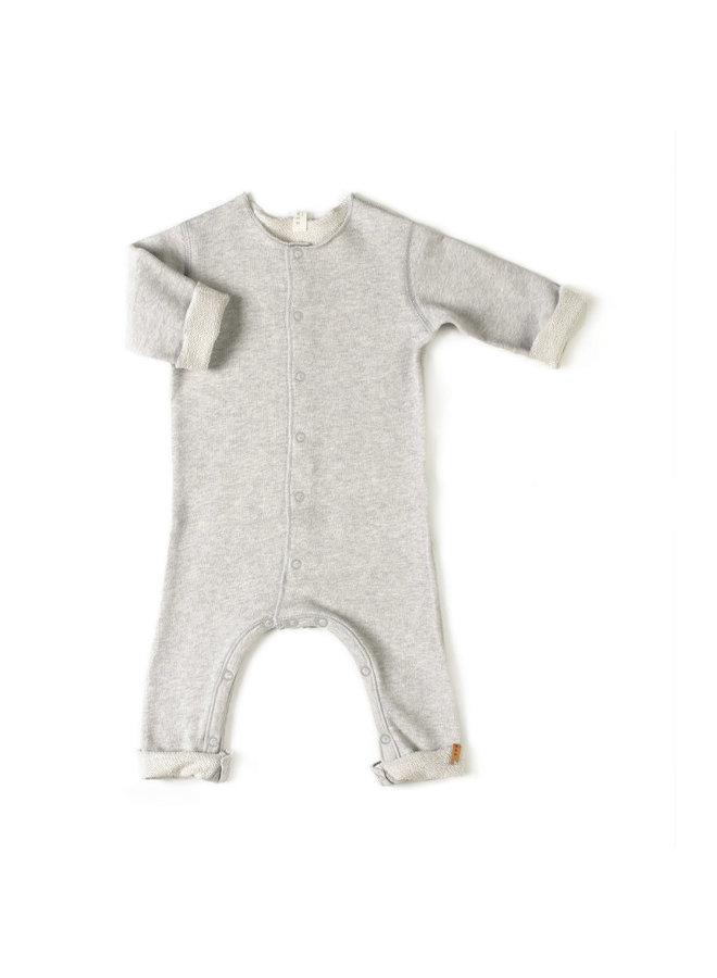 Nixnut | born onesie | grey