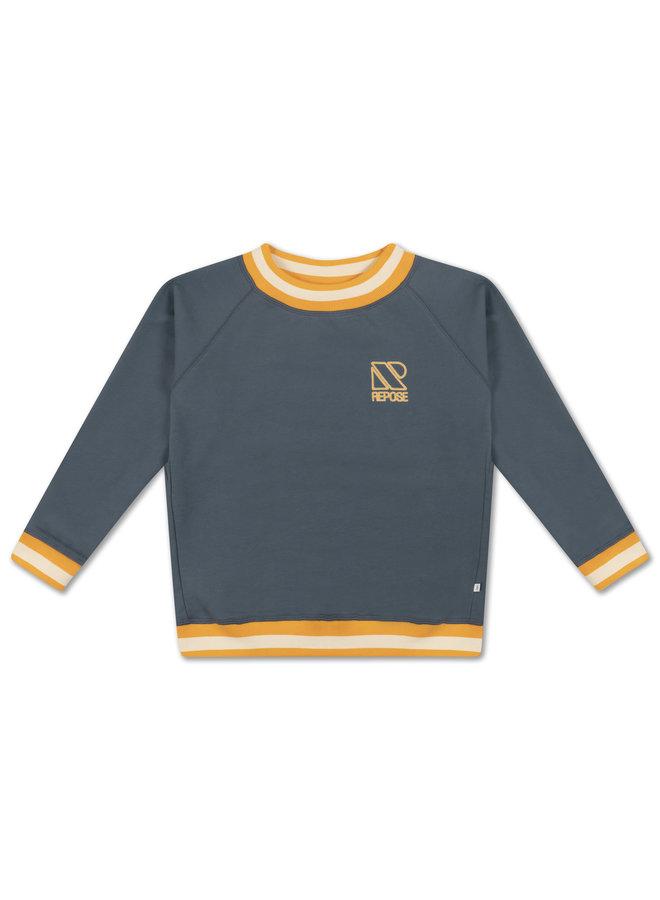 Repose AMS | classic sweater | greyish blue