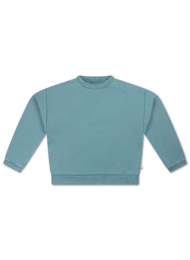 Repose AMS | crewneck sweater | greyish sky blue