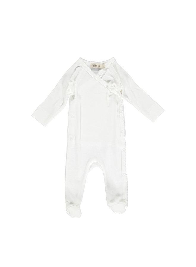 MarMar | rubetta | newborn onesie | gentle white