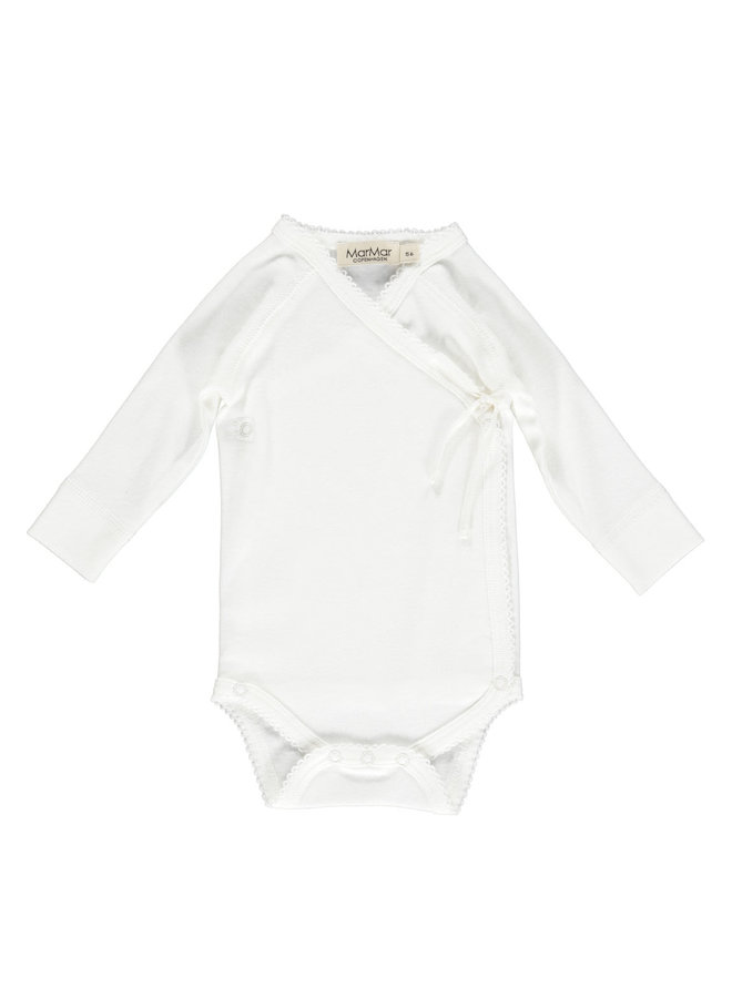 MarMar | belita | newborn romper | gentle white