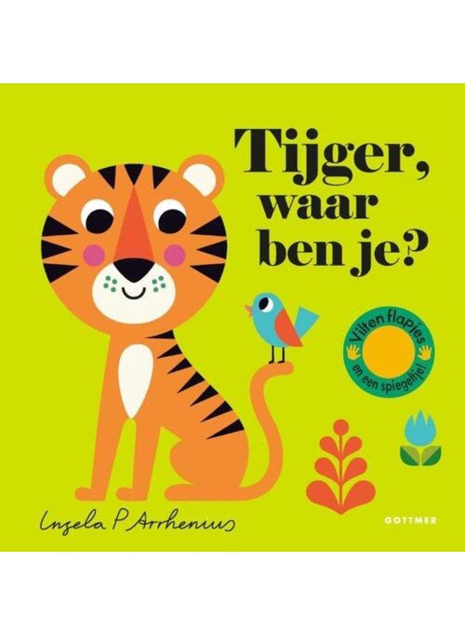 Boeken | tijger, waar ben je | karton | 2+
