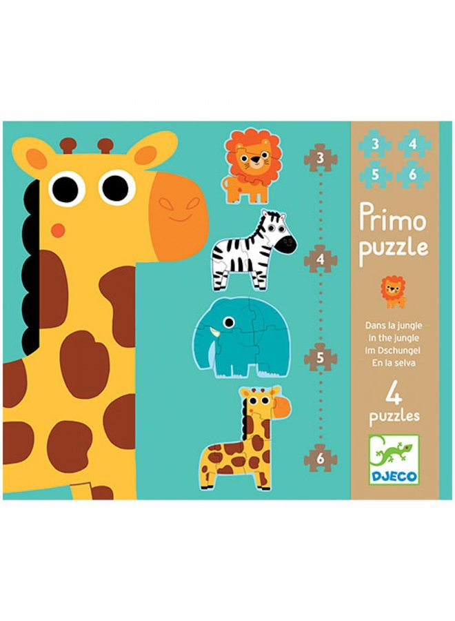 Djeco | puzzel | jungle dieren