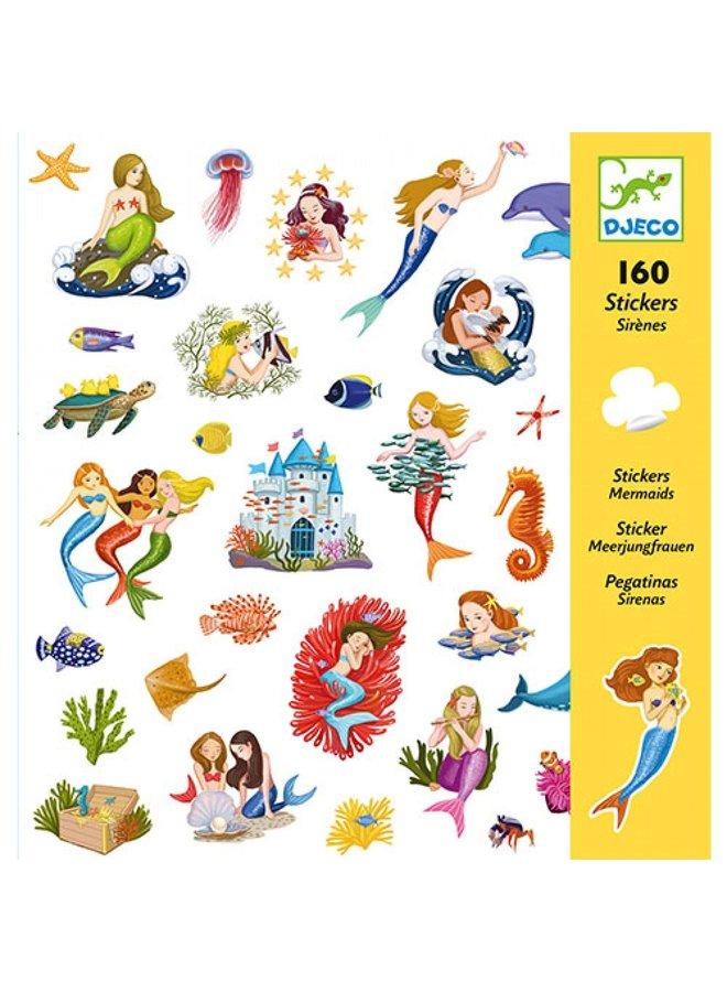 Djeco | stickers | zeemeerminnen