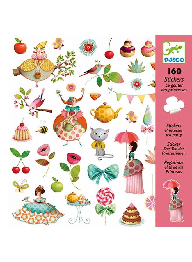 Djeco | stickers | princess tea party