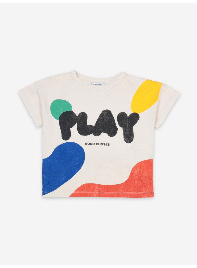 Bobo Choses | play landscape short sleeve t-shirt