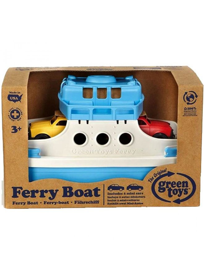 Green Toys | ferry boat | blue/white