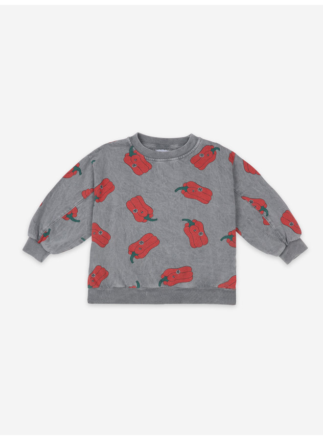 Bobo Choses | vote for pepper all over sweatshirt