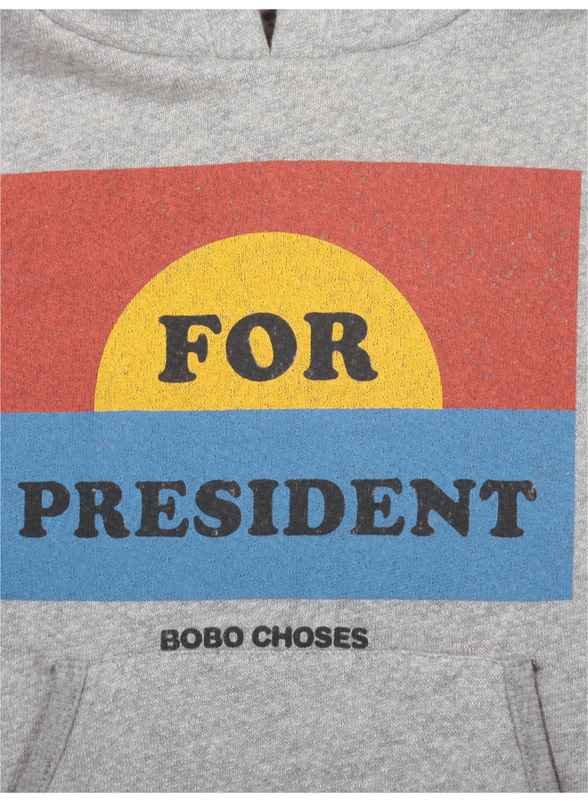 Bobo Choses | for president hoodie