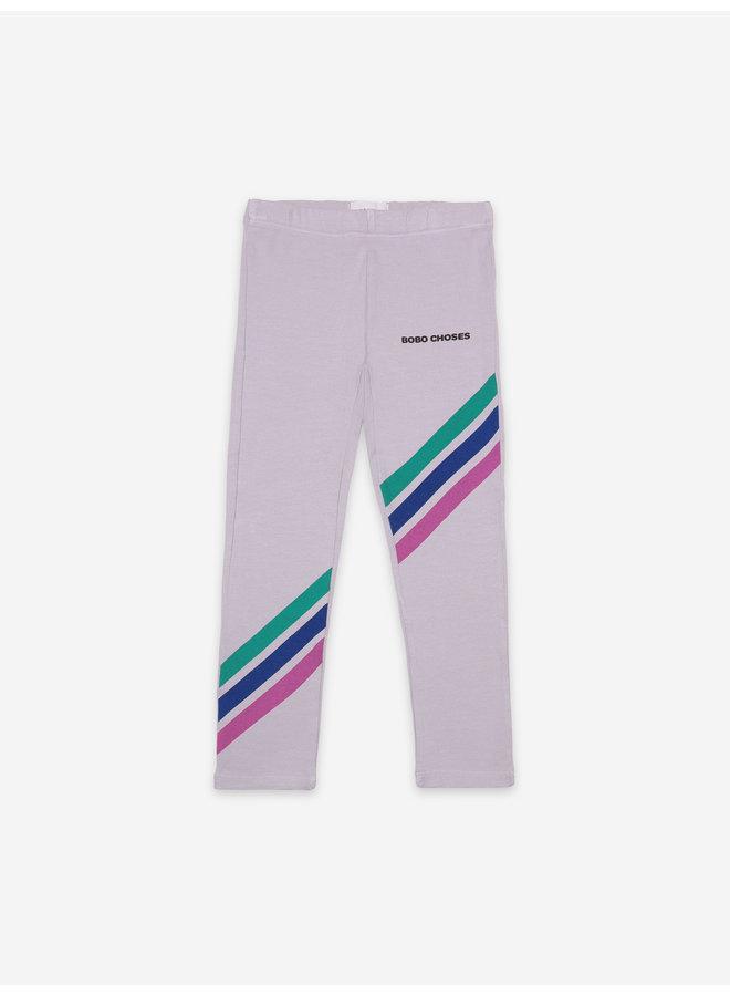 Bobo Choses | crosswise stripes leggings