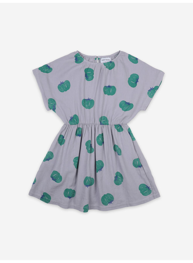 Bobo Choses | tomatoes all over woven dress