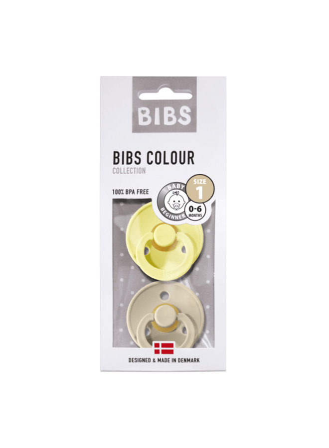 Bibs | fopspeen | blister sunshine/sand | T1