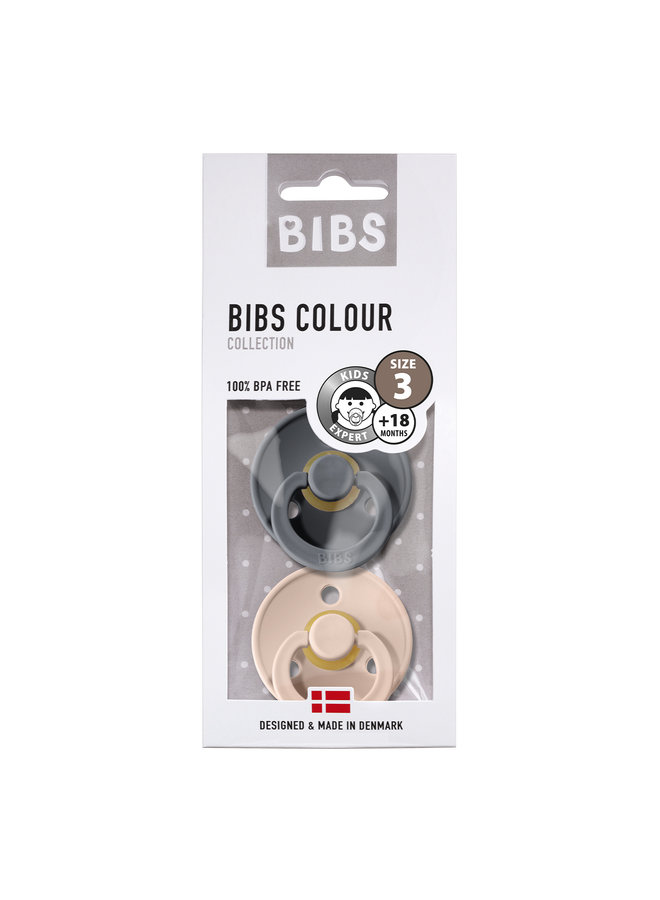 Bibs   fopspeen   blister iron/blush   T3