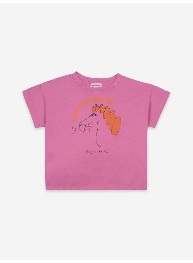 Bobo Choses | fetching horse short sleeve t-shirt