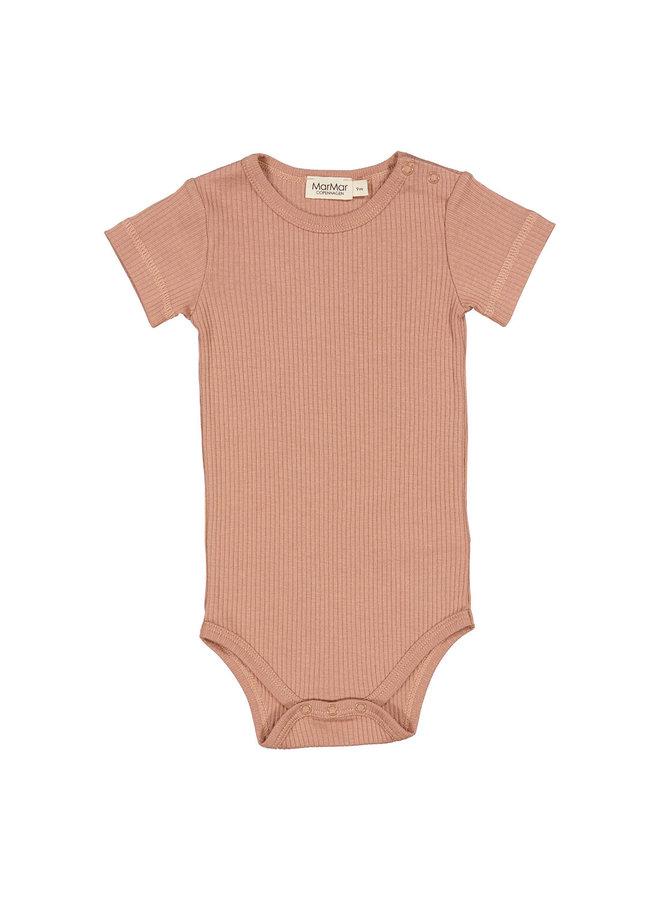 MarMar | plain body ss | body | rose brown