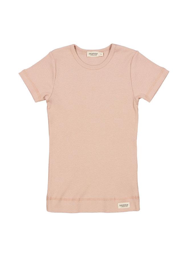 MarMar | plain tee ss | t-shirt | light cheeck