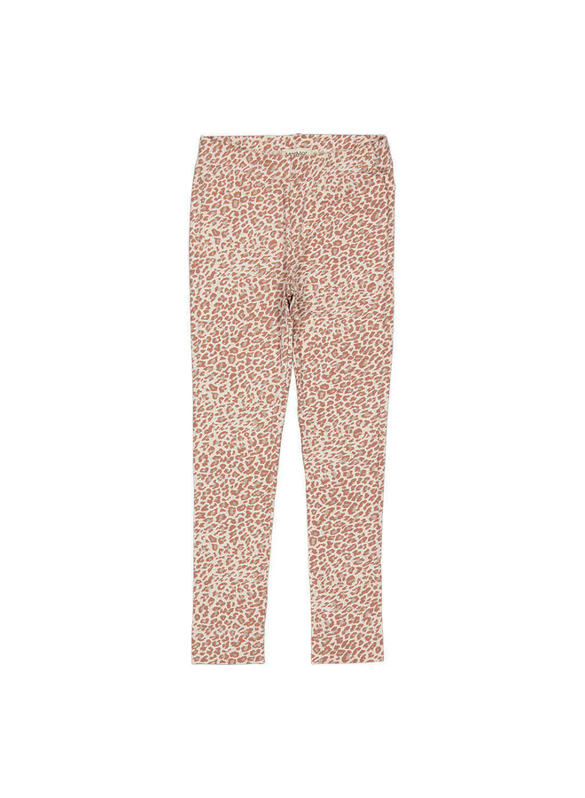 MarMar | leo leg | pants | rose brown leo