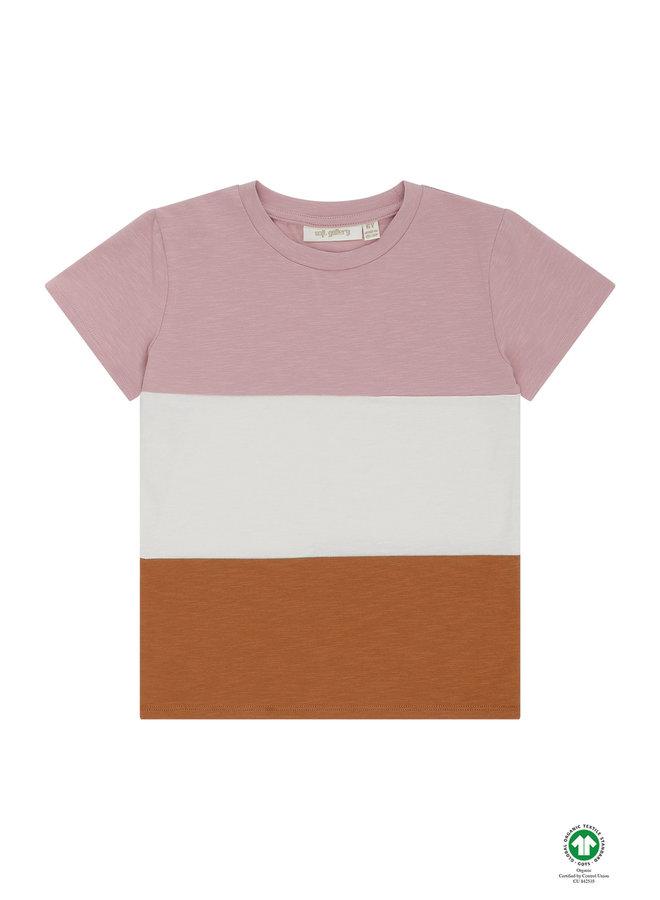 Soft Gallery | bass t-shirt | woodrose
