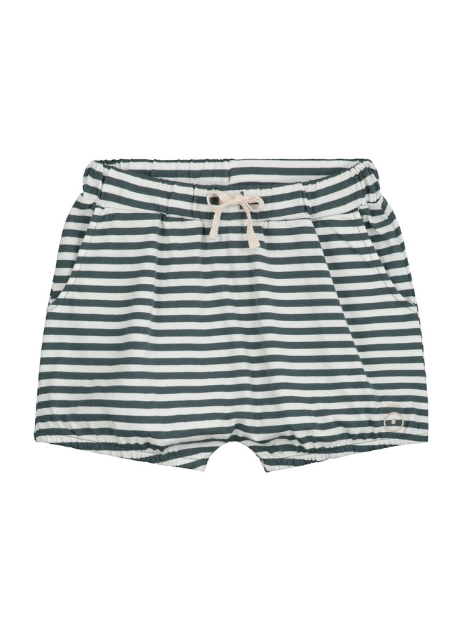 Gray Label | puffy shorts | blue grey/off white