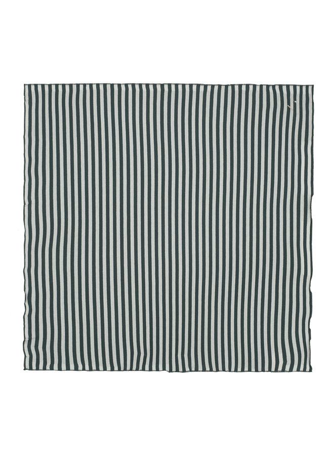 Gray Label | head scarf | blue grey/off white