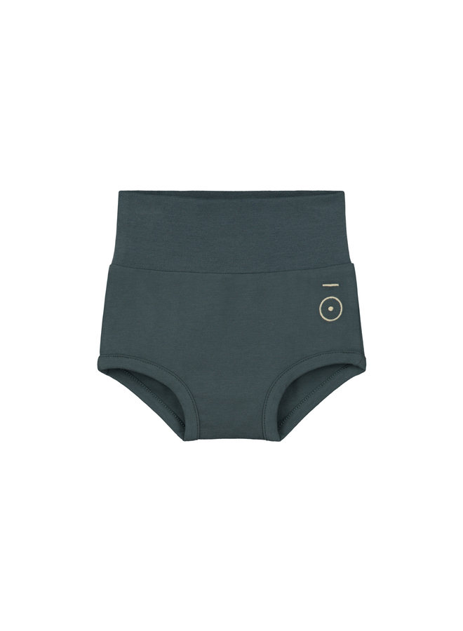 Gray Label | baby shorts | blue grey