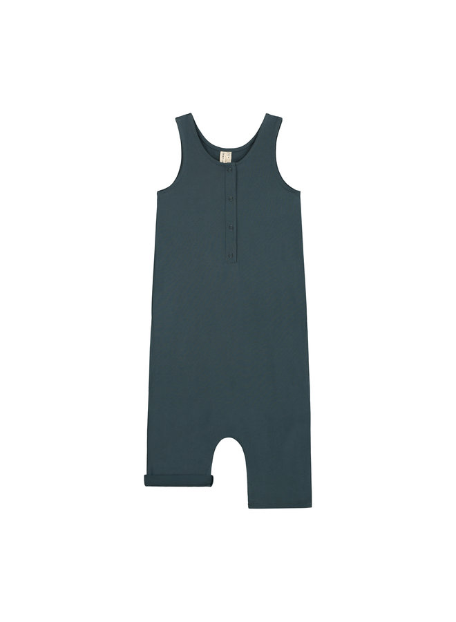 Gray Label | tank suit | blue grey
