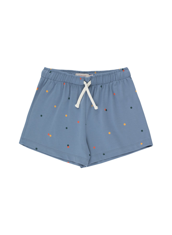 Tinycottons | ice cream dots short | grey blue