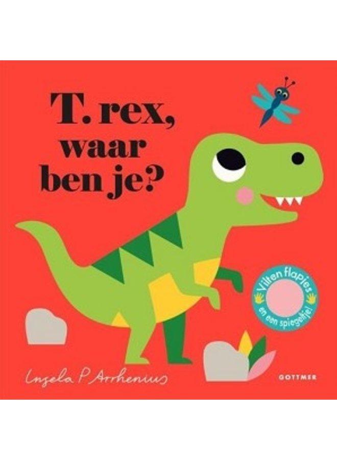 Boeken | t-rex, waar ben je | karton | 2+
