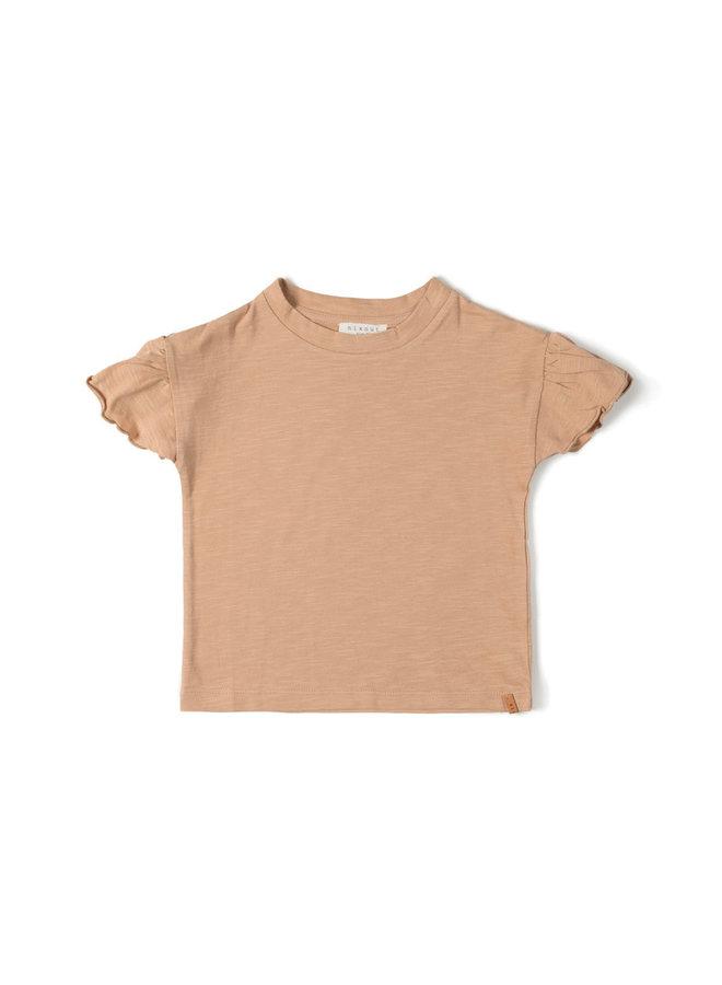 Nixnut | fly t-shirt | nude