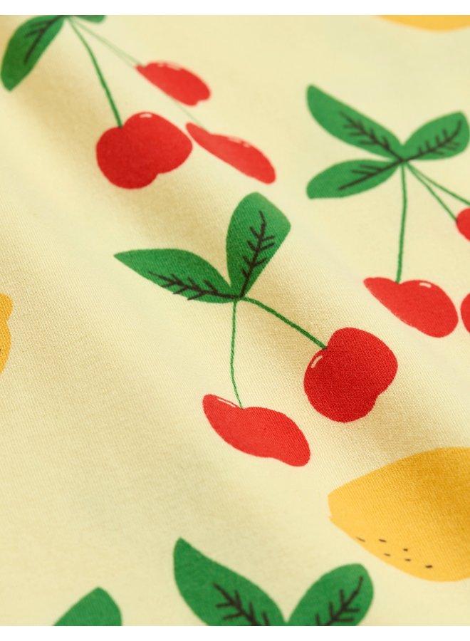 Mini Rodini | cherry lemonade aop ls body
