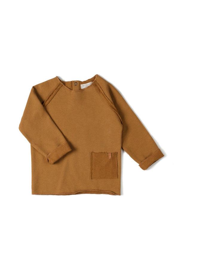 Nixnut | raw shirt | caramel