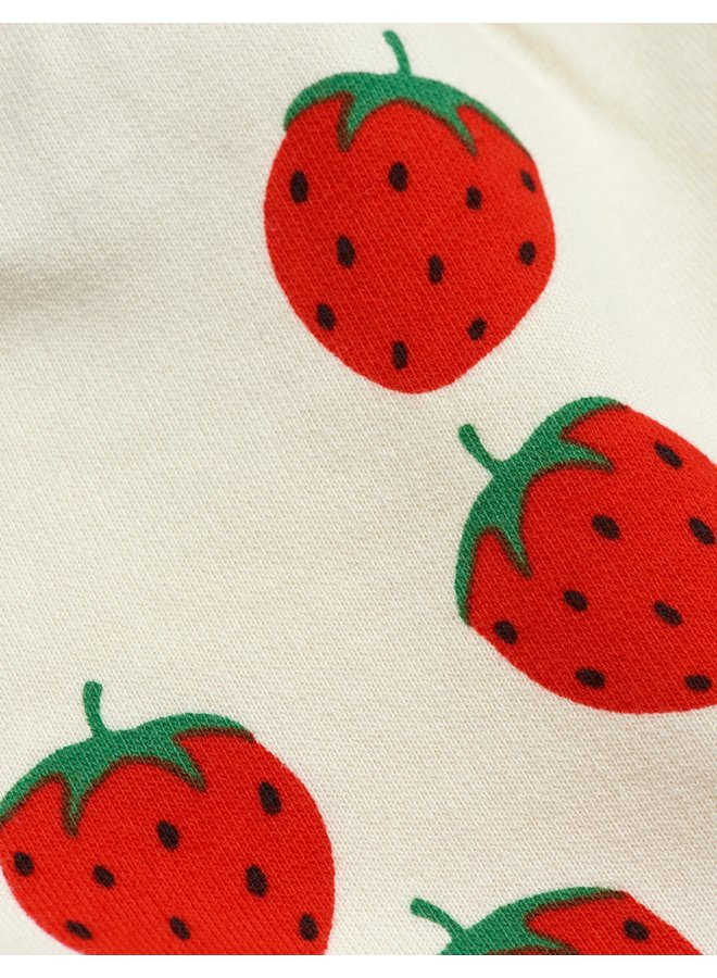 Mini Rodini | strawberry aop sweatshorts