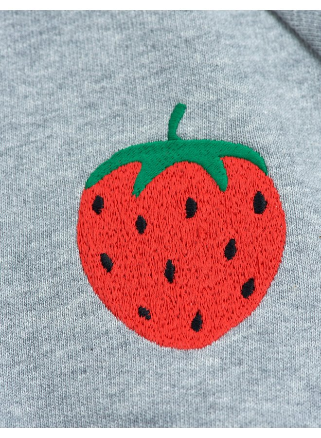 Mini Rodini | strawberry emb sweatshirt