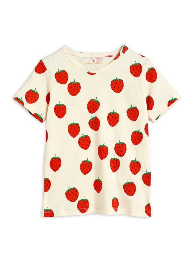 Mini Rodini | strawberry oap ss tee