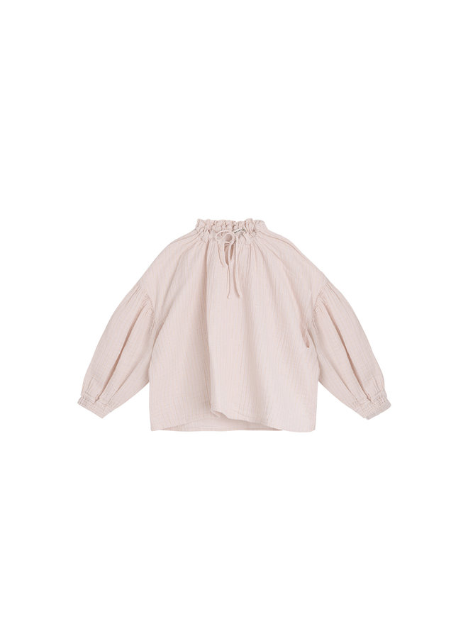 The New Society | olivia blouse | blush