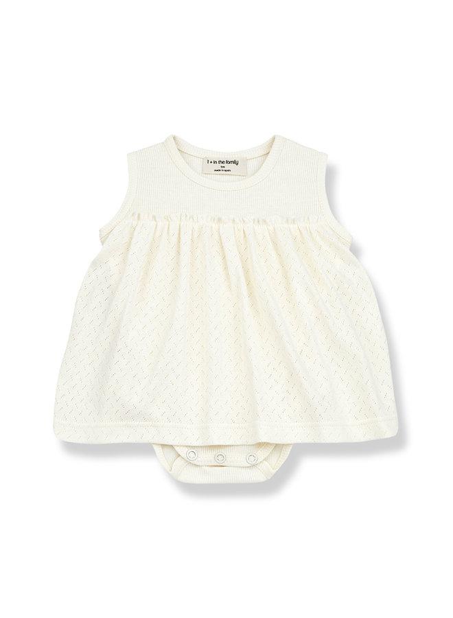 1+ in the family | sybilla dress | ecru