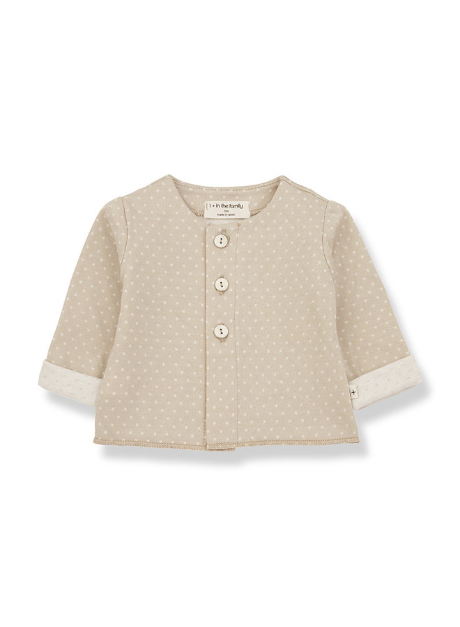 1+ in the family | jolie jacket | beige