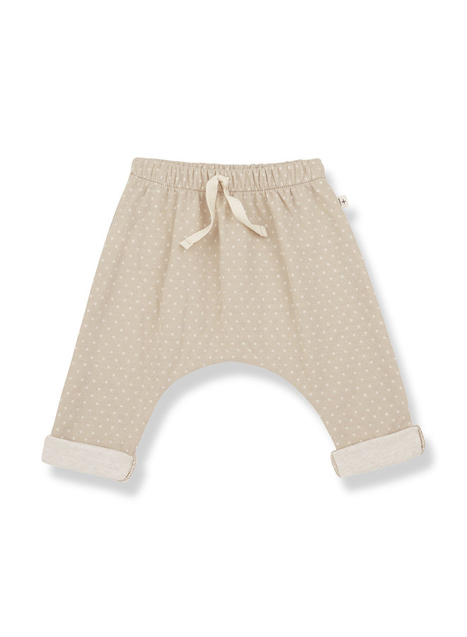 1+ in the family | adrien baggy pants | beige