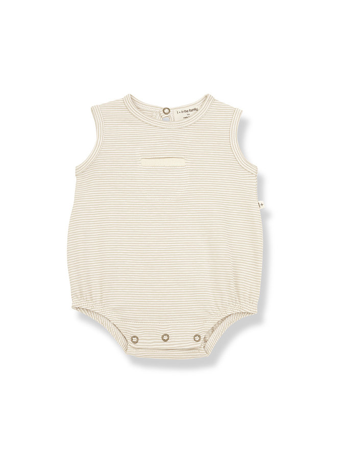 1+ in the family | tim romper | beige