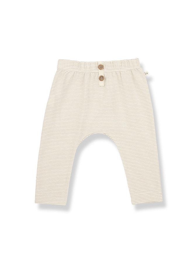 1+ in the family | pia leggings | beige